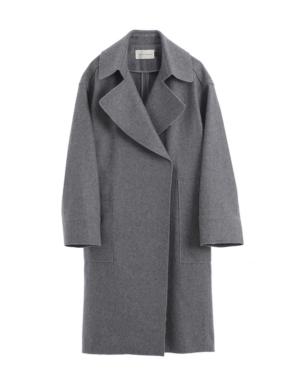 Zigzag coat / Grey