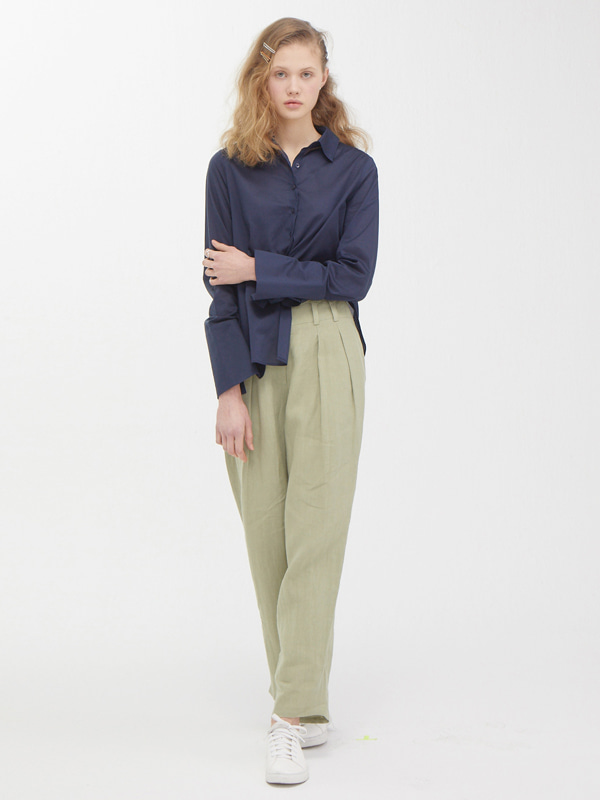 Modern Slit Shirt  +  Tuck Enough Pants