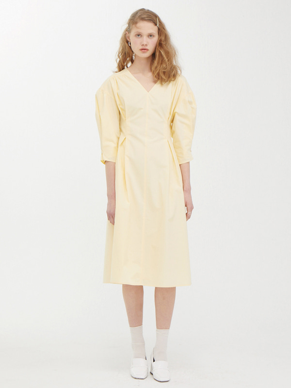 Wide Sleeve A Drees / Light Yellow