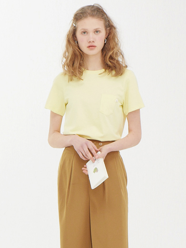 Pocket Label T / Light Yellow