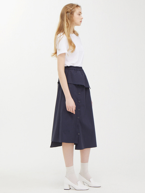 Pocket Label T  +  Cover Button Skirt