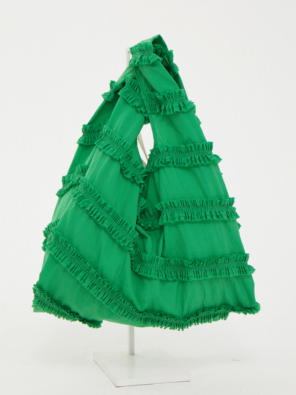 [EXCLUSIVE] Frill Wave Bag / Green