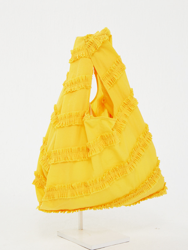 [EXCLUSIVE] Frill Wave Bag / Yellow