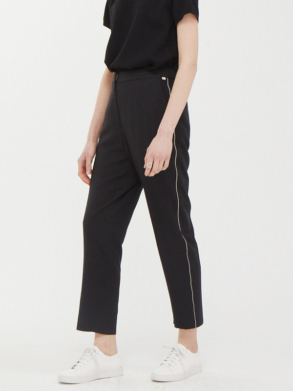 Track Banding Slacks / Black