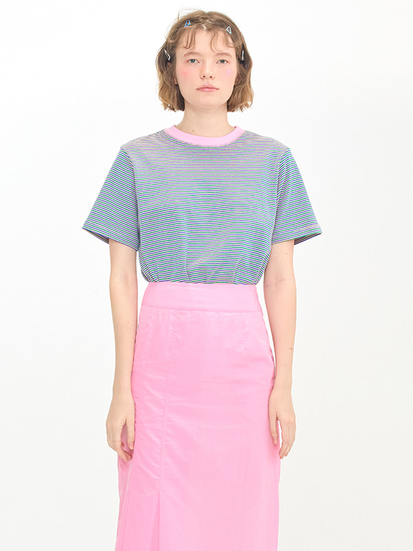 Stripe T-shirts / Pink