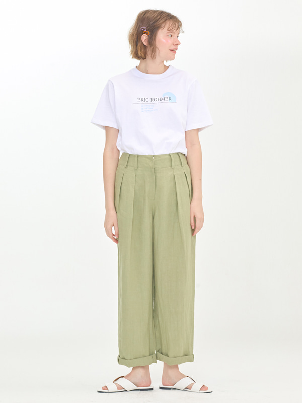 Eric Rohmer T shrits  +  Tuck Enough Pants