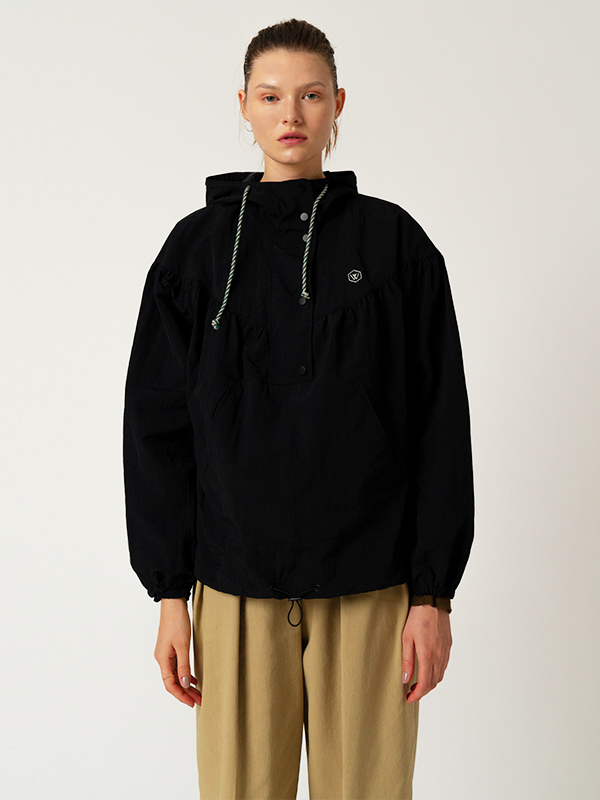 Patch Anorak Jmuper / Black