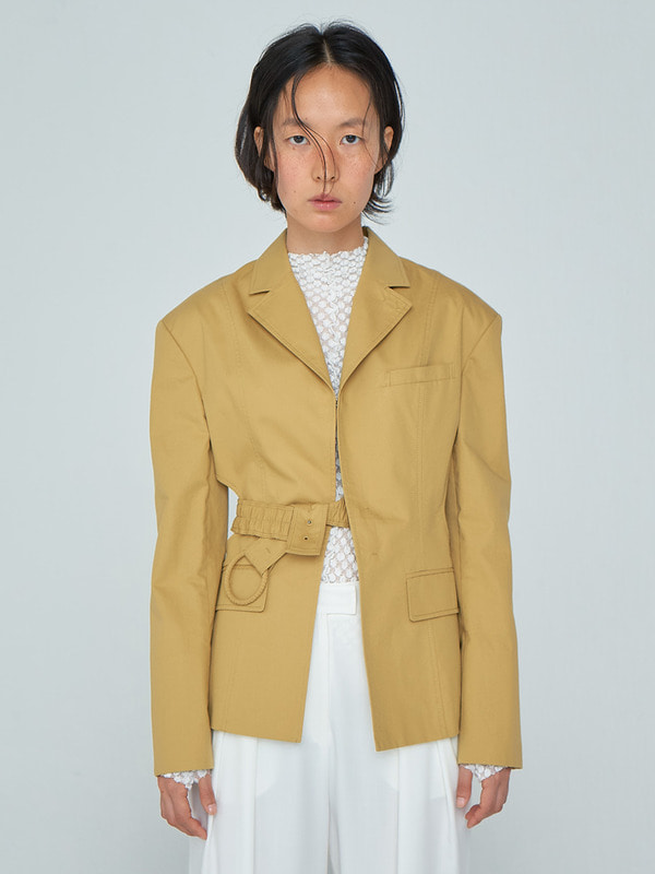 Halfmoon Jacket_Yellow