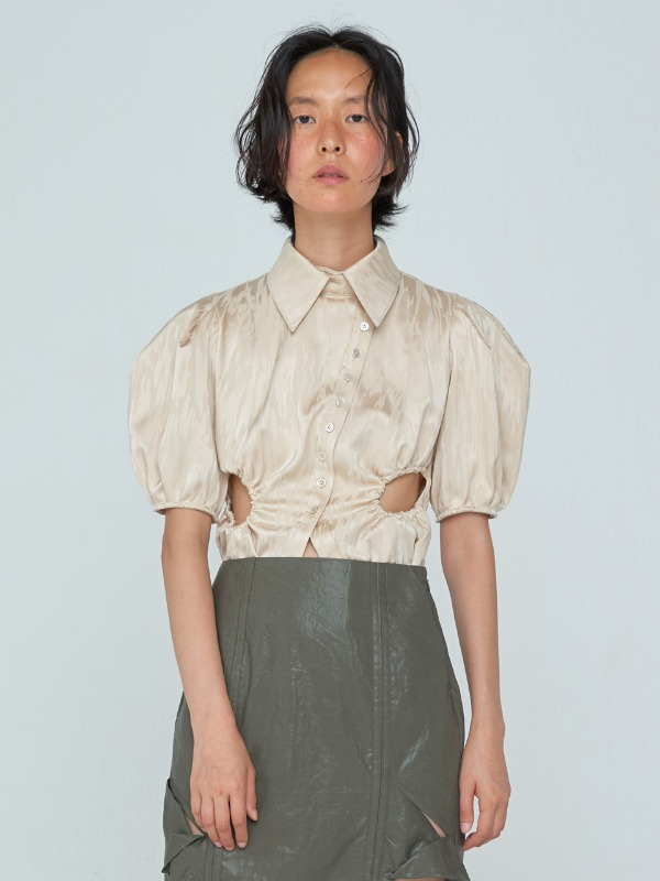 [7월 9일 예약발송] Prune Shirts_Light Beige